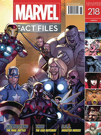 Marvel Fact Files #218