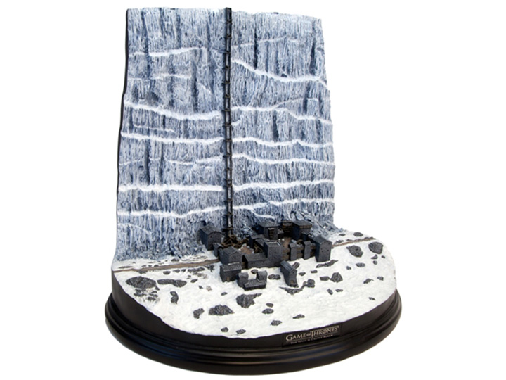 Game Of Thrones Castle Black The Wall Desktop Sculpture