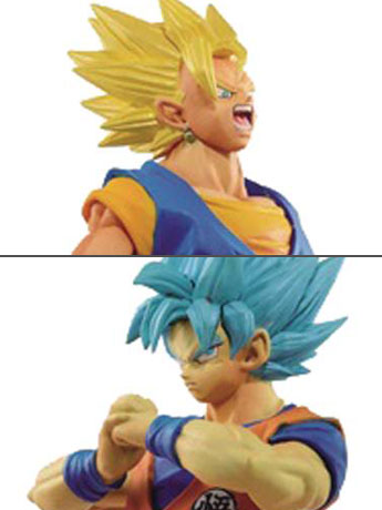 Dragon Ball Super DXF Warriors Volume 04 - Set of Super Saiyan Vegito & SSGSS Goku
