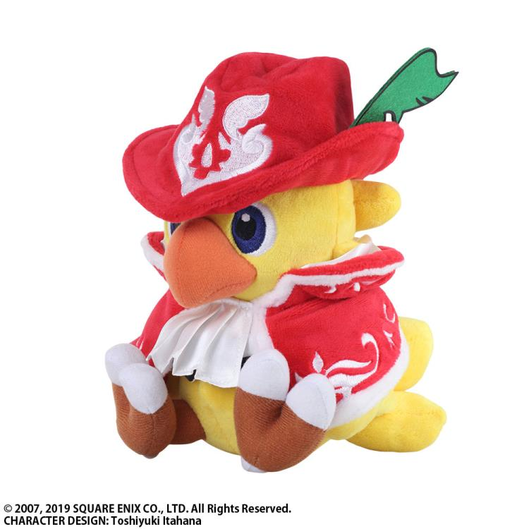 Chocobo's Mystery Dungeon Every Buddy! Chocobo (Red Mage) Plush