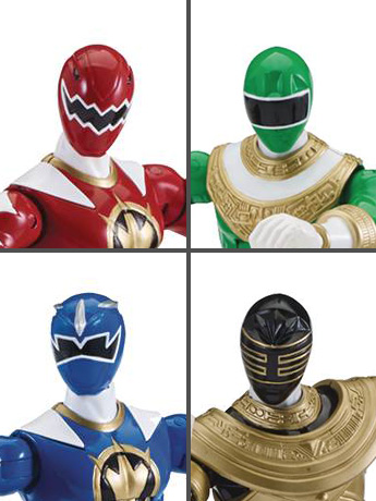 "Power Rangers Legacy 6"" Wave 6 Set of 4"