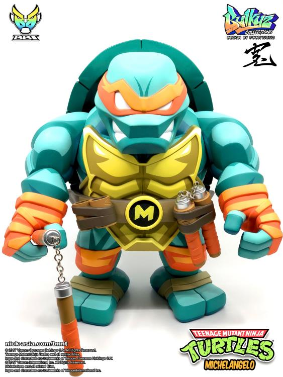 Turtle Toys For Boys : Tmnt bulkyz michelangelo deluxe limited edition figure