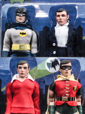 "Batman Classic TV Series The Defenders of Gotham City 8"" Retro Figure Four Pack #2 BBTS Exclusive (LE 25)"