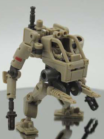 Multiabyss V-Link Mecha Striker + Logistic (Brown) 1/60 Scale Model Kit