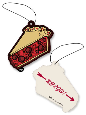 Twin Peaks Double R Diner Cherry Pie Air Freshener