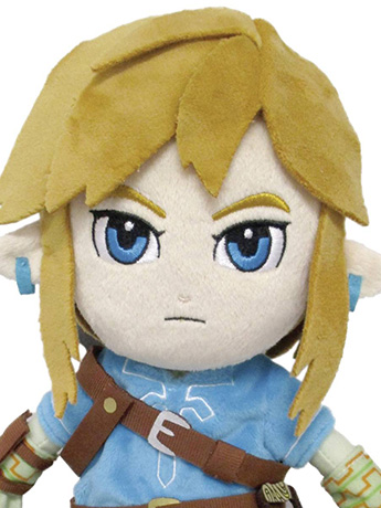 "The Legend of Zelda: Breath of the Wild 12"" Link Plush"