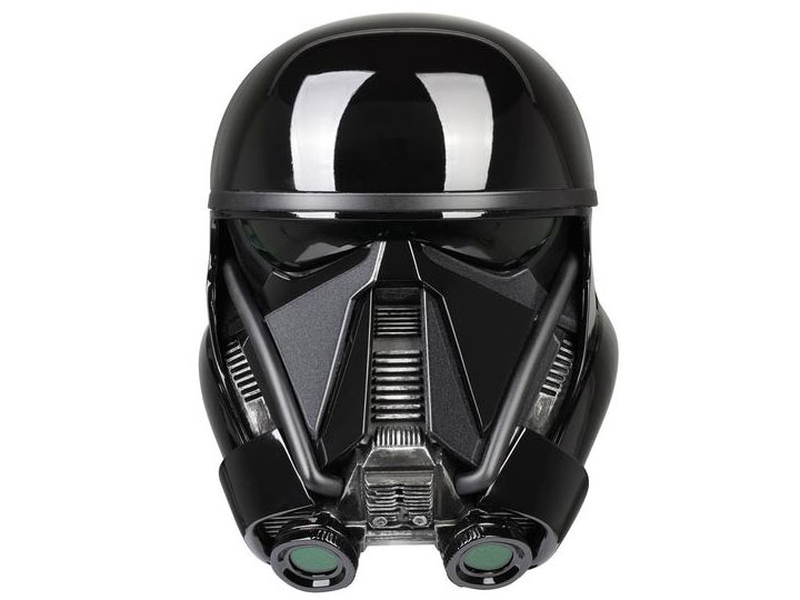 star wars death trooper rogue one 1 1 scale wearable helmet. Black Bedroom Furniture Sets. Home Design Ideas