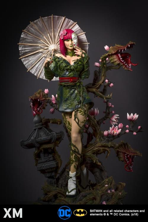 dc premium collectibles poison ivy statue