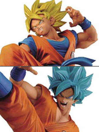 Dragon Ball Super FES!! Stage 1 Super Saiyan Goku & SSGSS Goku Set