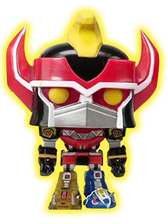 "Pop! TV: Power Rangers 6"" Super Sized Megazord (Glow in The Dark) Exclusive"