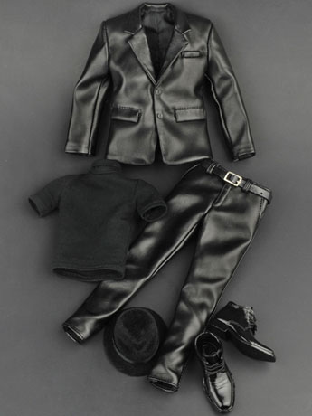Men's Leather Suit 1/6 Scale Accessory Set