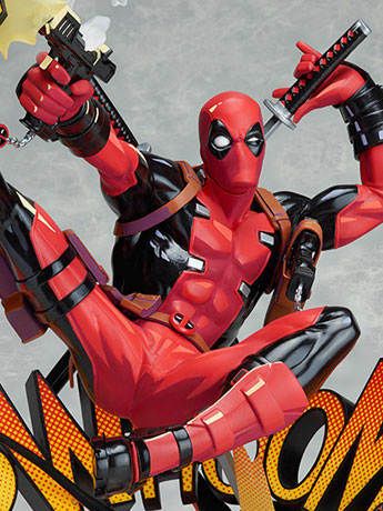 Deadpool: Breaking the Fourth Wall Statue