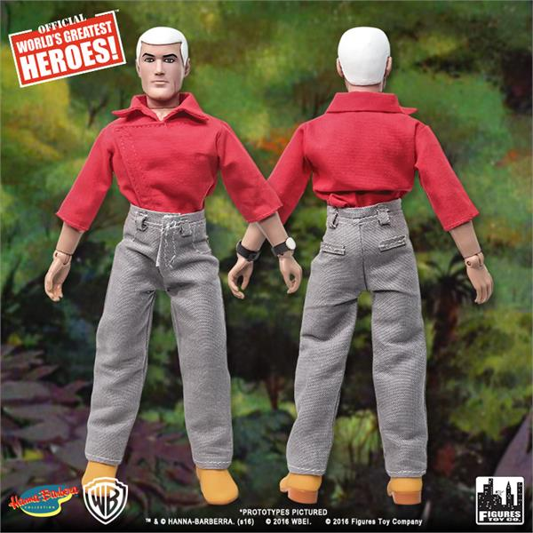 jonny quest world u0026 39 s greatest heroes series 1 roger  u0026quot race u0026quot  bannon 8 u0026quot  retro figure
