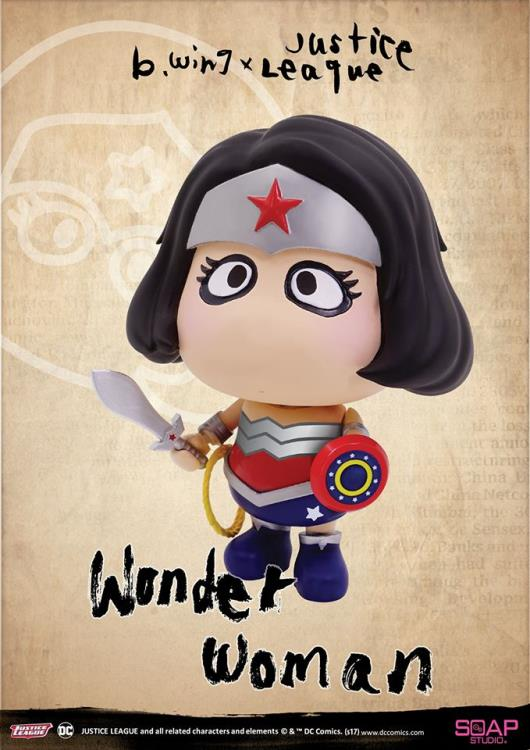 "b.wing x Justice League ""A"" Family Wonder Woman Figure"