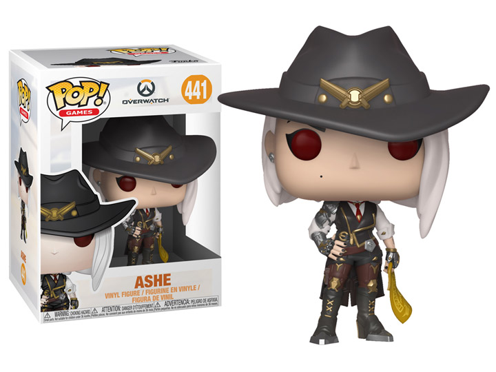Pop Games Overwatch Ashe