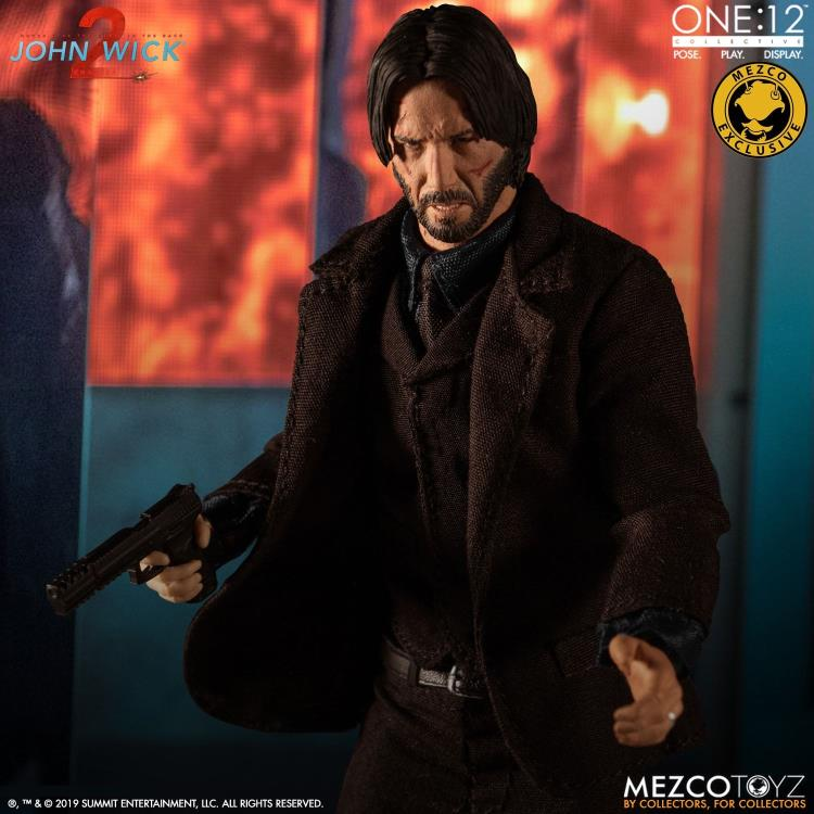 John Wick: Chapter 2 One:12 Collective John Wick Exclusive Deluxe Edition