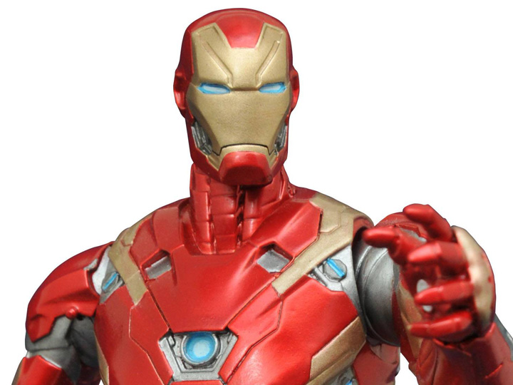 Iron Figurine Figurines Marvel War Man D'action Civil MzpSqUV
