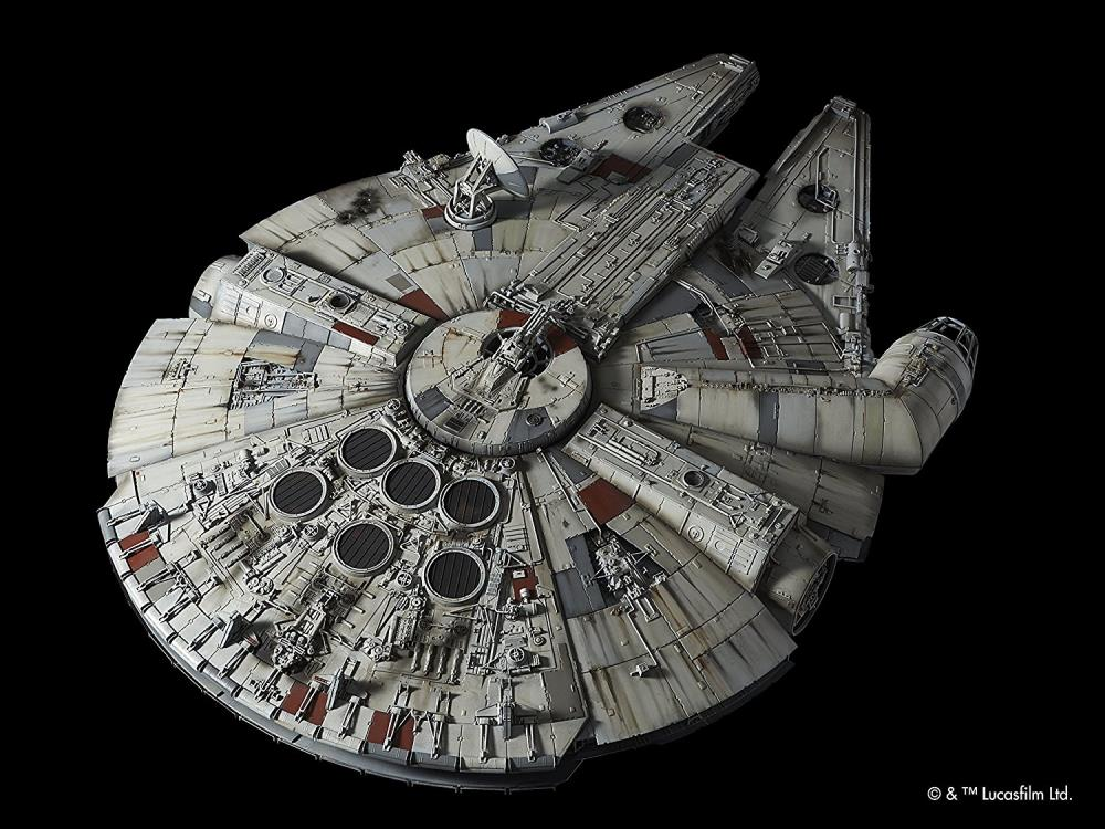 Star Wars Pg 1 72 Millennium Falcon A New Hope Model Kit