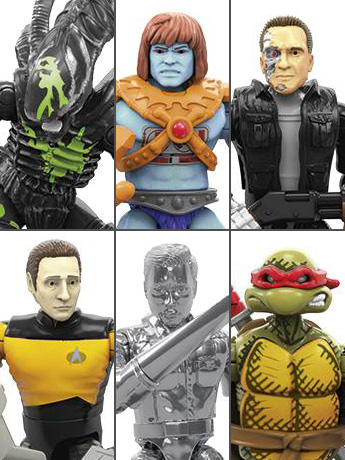 Mega Construx Heroes Series 3 Set of 6