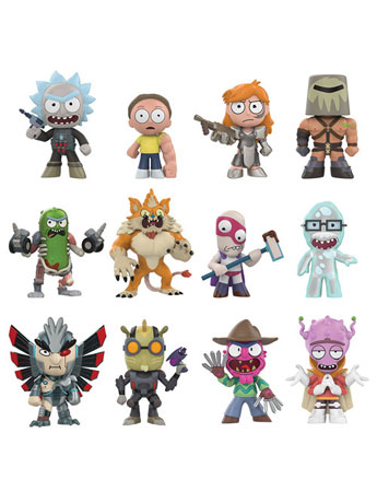 Rick and Morty Mystery Minis Series 2 Box of 12 Figures