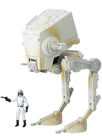 Star Wars The Black Series Imperial AT-ST Walker With Driver