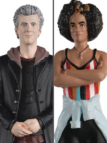 Doctor Who Figurine Collection Companion Set #4 Twelfth Doctor & Bill Potts