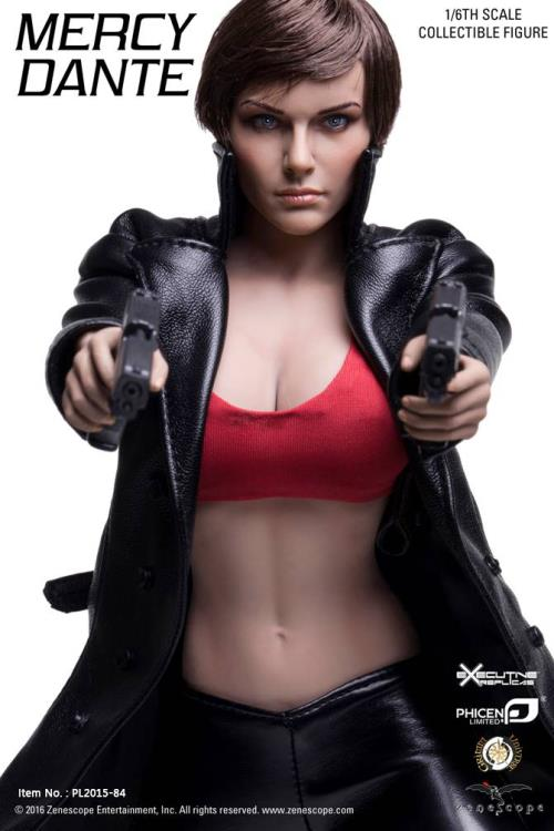 "1:6 Scale Mercy Dante Clothes Set For 12/"" Phicen Female Figure Body Doll"