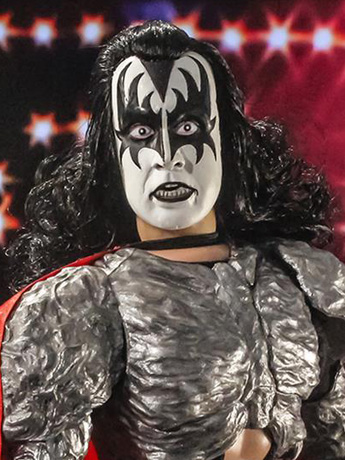"KISS Dynasty The Demon 12"" Retro Figure"