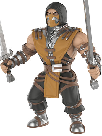"Mortal Kombat Scorpion 5.50"" Action Figure"