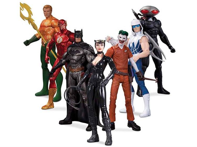 The New 52 Heroes Vs Super Villains 7 Pack