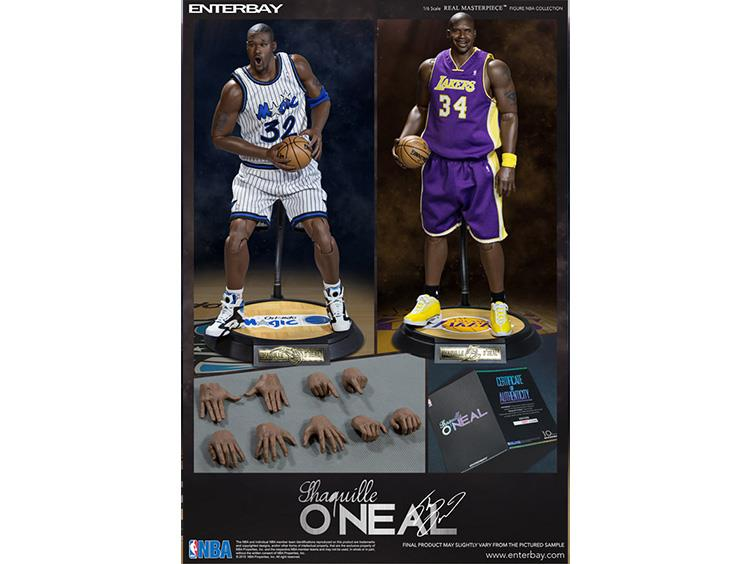 NBA Real Masterpiece Shaquille O'Neal 1/6 Scale Figures Two Pack