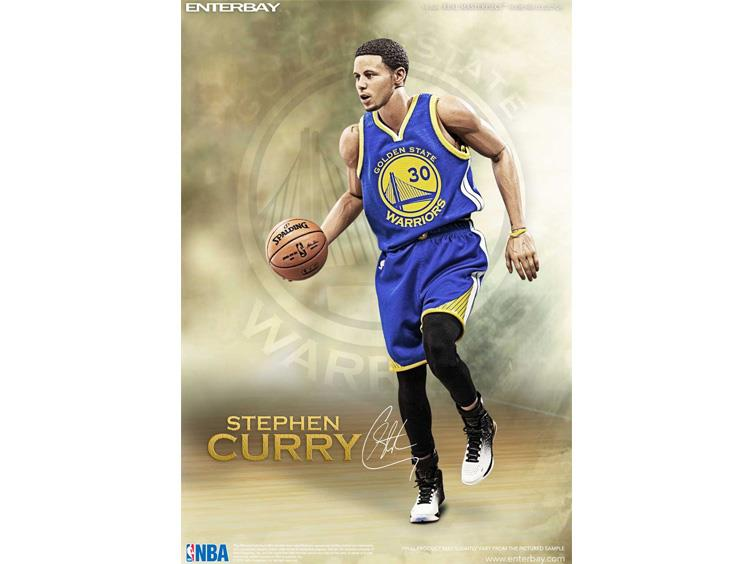 cf4925b9ba3d NBA Real Masterpiece Stephen Curry 1 6 Scale Figure