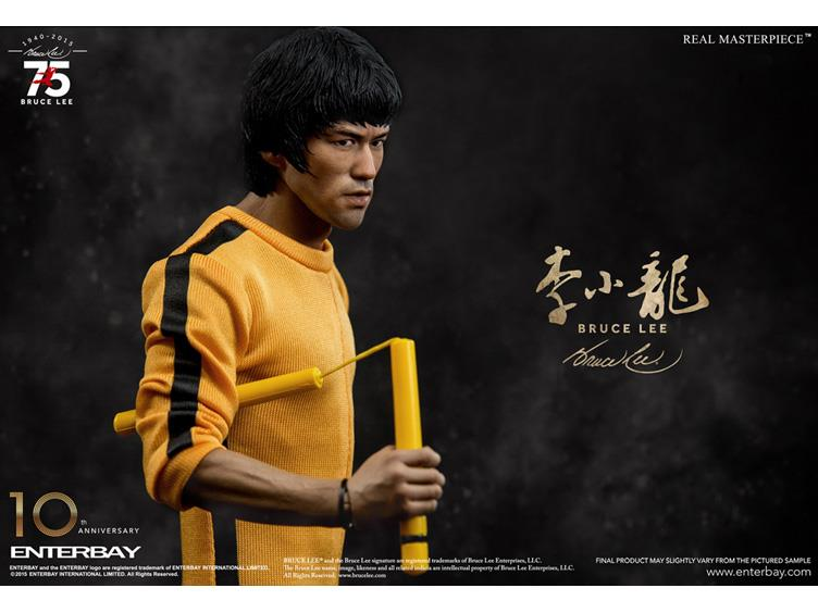 Bruce Lee Real Masterpiece 75th Anniversary 1/6 Scale Figure