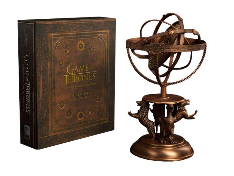 Game Of Thrones Astrolabe With A Pop Up Guide To Westeros Collectors Edition