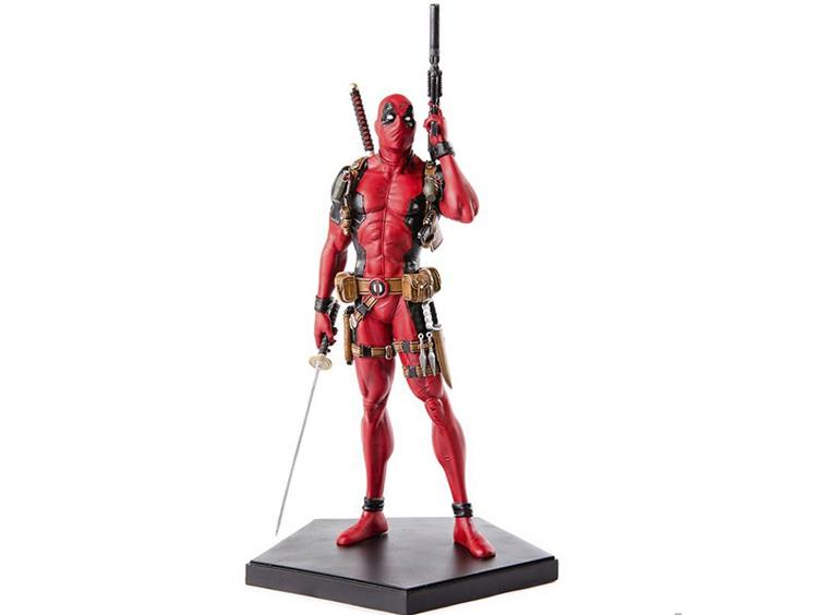 marvel comics 1/10 scale art statue - deadpool