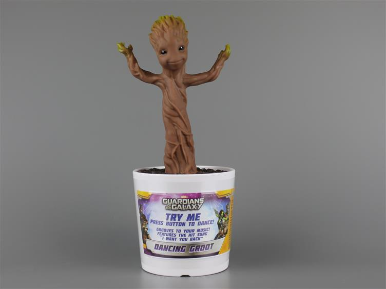 Guardians Of The Galaxy Electronic Dancing Baby Groot