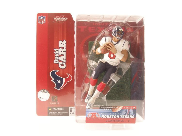 New NFL Sportspicks Series 07 David Carr (Houston Texans White Jersey)  for sale