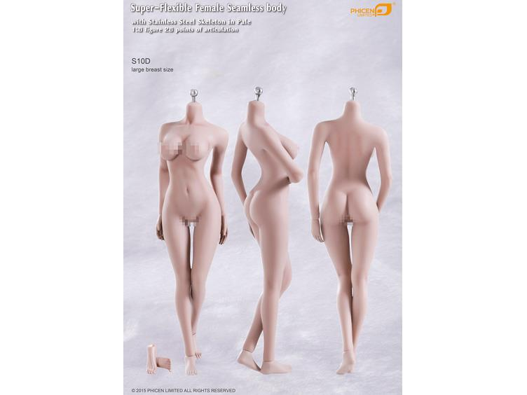 Super-Flexible 1/6 Scale Seamless Female Body (Pale Large Breast 03)