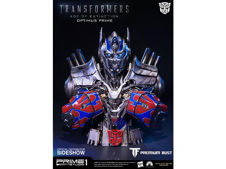 Transformers Age Of Extinction Optimus Prime Bust