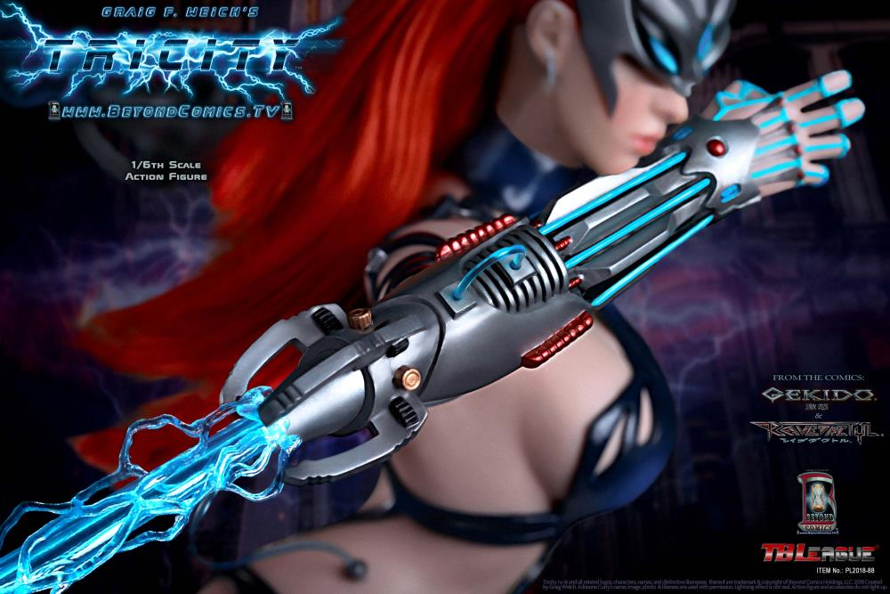 Gekido Tricity: Goddess of Lightning (Super Deluxe) 1/6 Scale Limited Edition Figure