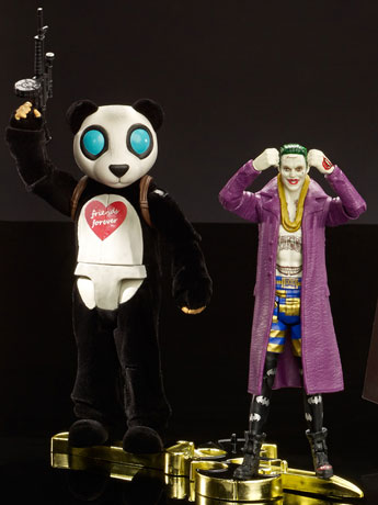 Suicide Squad Multiverse The Joker & Panda Two Pack SDCC 2016 Exclusive
