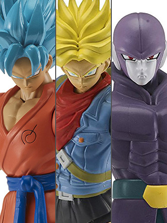 Dragon Ball Super Dragon Stars Wave C Set of 3 Figures with Fusion Zamasu Components