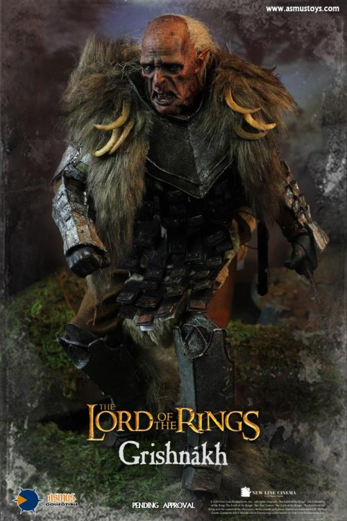 The Lord of the Rings Grishnakh 1/6 Scale Figure