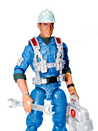 G.I. Joe Hardtop Subscription Figure 6.0