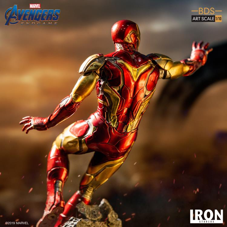 Avengers: Endgame Battle Diorama Series Iron Man Mark LXXXV 1/10 Art Scale Limited Edition Statue