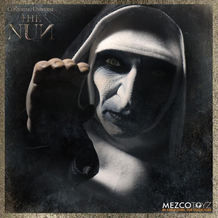 Mezco The Nun | The Nun Doll Action Figure | BigBadToyStore