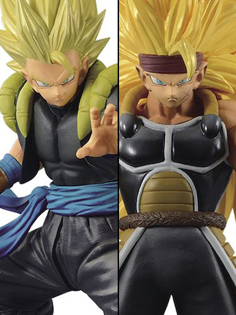 Super Dragon Ball Heroes DXF Volume 3 Gogeta Xeno & Bardock Xeno Set