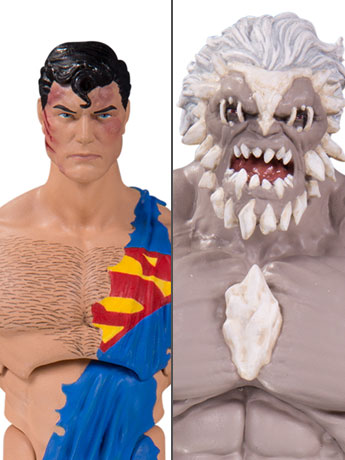 "DC Comics Icons 6"" Doomsday & Superman Deluxe Two Pack (Death of Superman)"