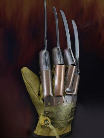 A Nightmare on Elm Street Freddy Glove Prop Replica