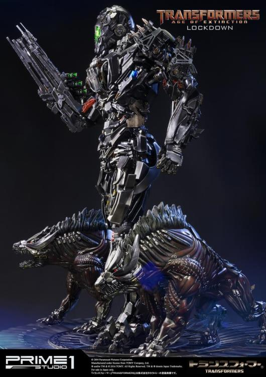 Transformers: Age of Extinction Museum Masterline Lockdown Statue